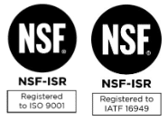 NSF ISO certs